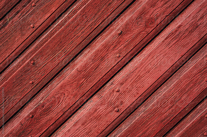 Red Wood Background by Claudia Lommel for Stocksy United