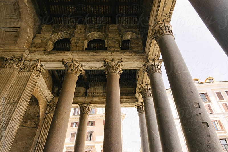 Pantheon Temple in Rome by Maa Hoo for Stocksy United