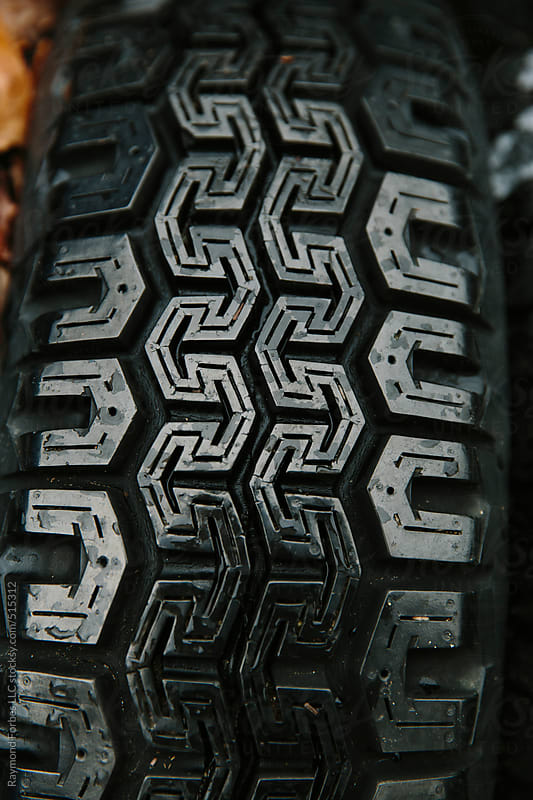 Stack of Tires by Raymond Forbes LLC for Stocksy United
