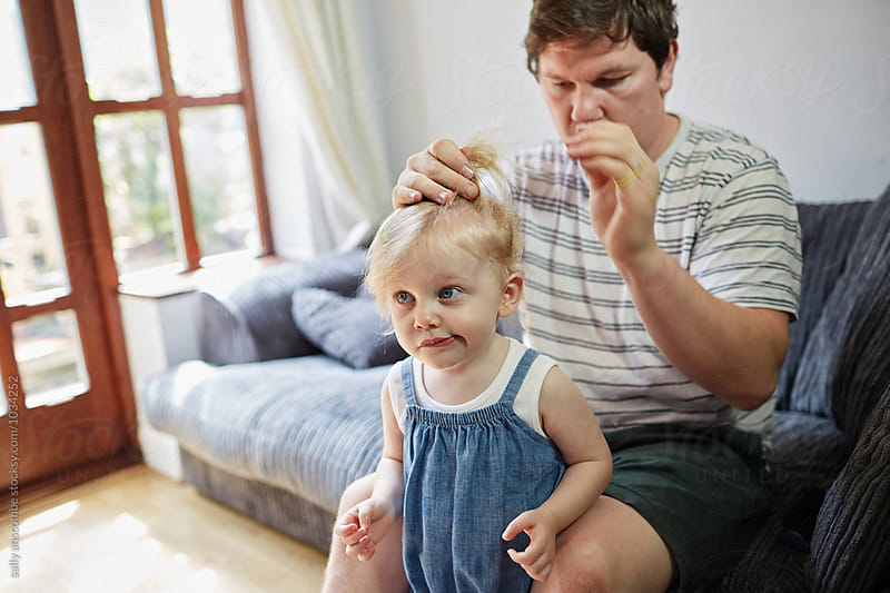 Father and daughter by sally anscombe for Stocksy United