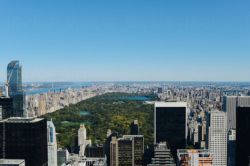 View of Central Park by Kirstin Mckee for Stocksy United