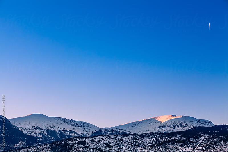 Peak Belmeken in the Rila mountain, Bulgaria by Borislav Zhuykov for Stocksy United