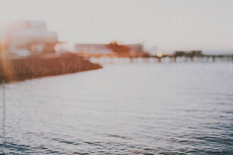 Blurry Pier by Dylan M Howell Photography for Stocksy United