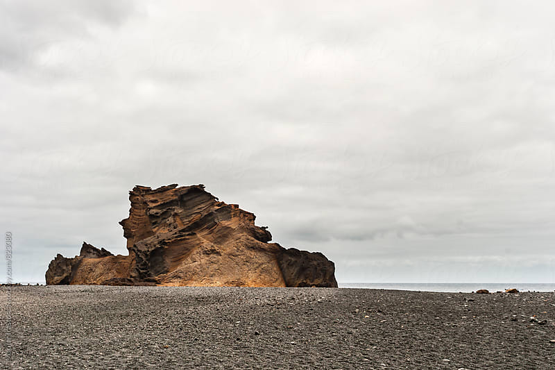 Volcanic beach by Marilar Irastorza for Stocksy United