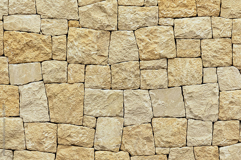 Stone wall texture by Milles Studio for Stocksy United