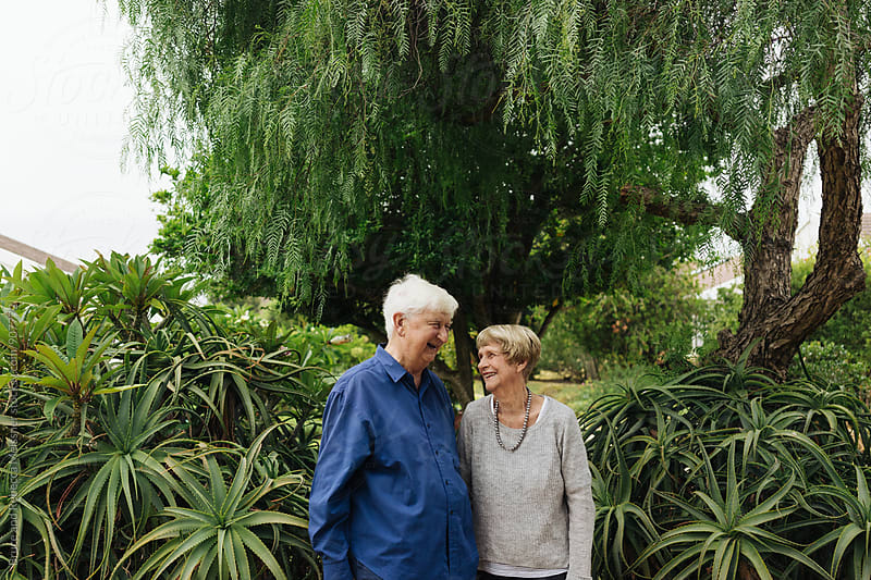 Mature Couple by Bruce and Rebecca Meissner for Stocksy United
