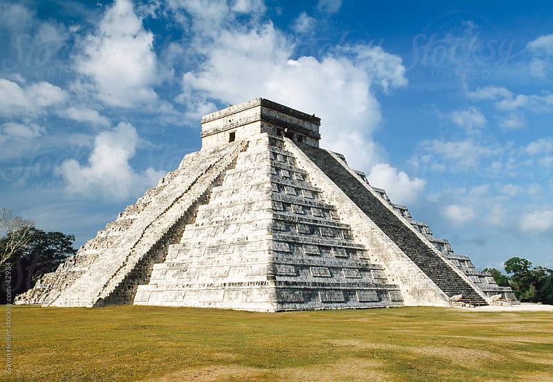 Chichenitza, Mayan ruins, Yucatan, Mexico, Central America by Gavin Hellier for Stocksy United