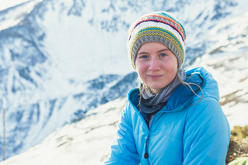 Hiker Portrait  by RG&B Images for Stocksy United