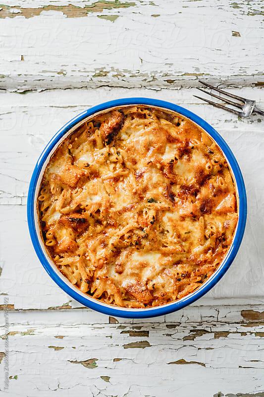 Pumpkin pasta by Tatjana Ristanic for Stocksy United