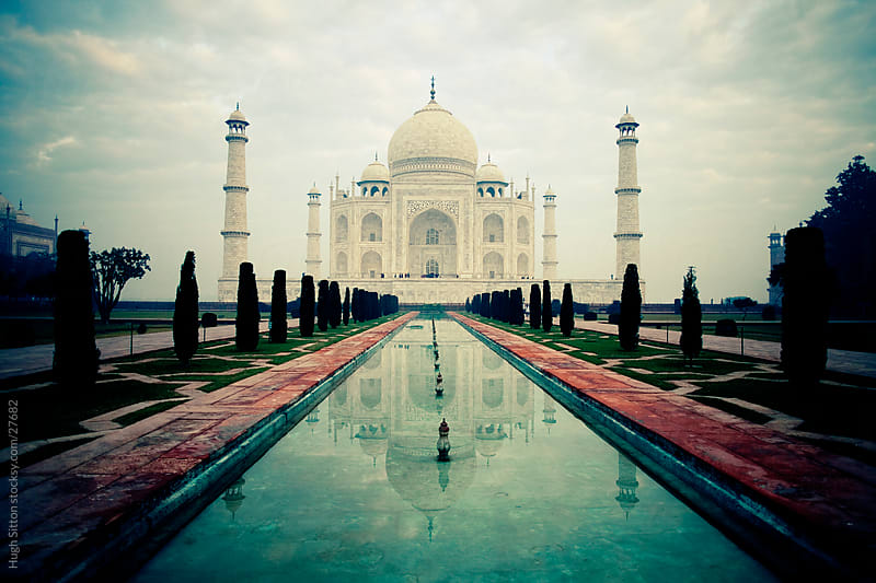 Taj Mahal in the early morning. Agra. India by Hugh Sitton for Stocksy United
