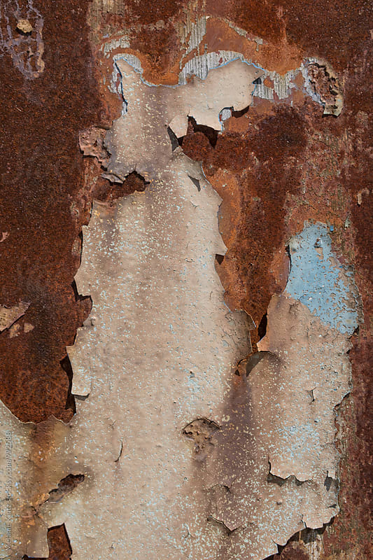Rusty background by Melanie Kintz for Stocksy United
