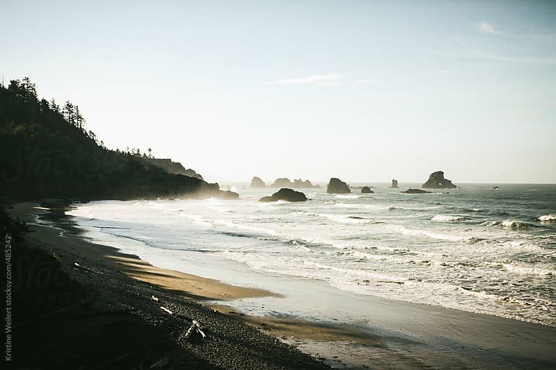 Glowing Oregon Coast by Kristine Weilert for Stocksy United