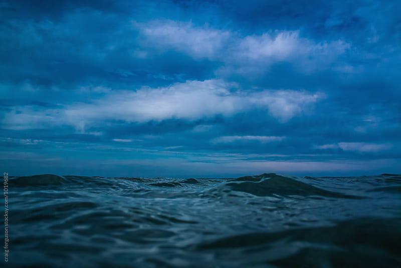 Open Water by craig ferguson for Stocksy United