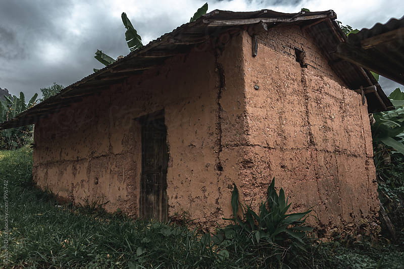 Traditional clay buildings in  Venezuelan Andes by Gabriel Diaz for Stocksy United