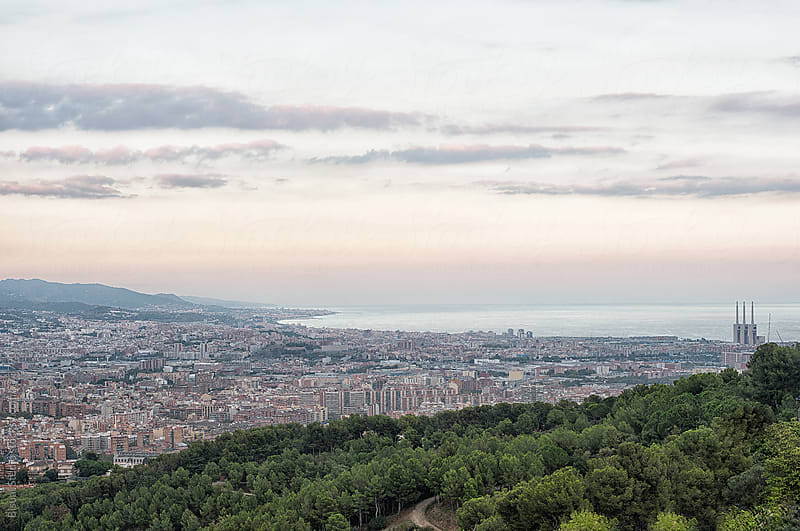 Views of Barcelonès, Barcelona  by Bisual Studio for Stocksy United