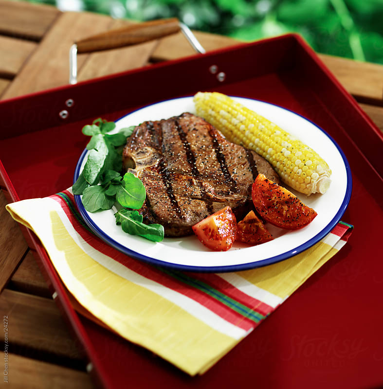 Grilled Steak by Jill Chen for Stocksy United