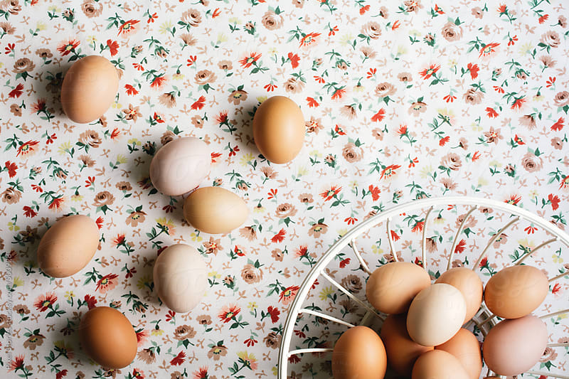 Home-grown eggs by Pixel Stories for Stocksy United