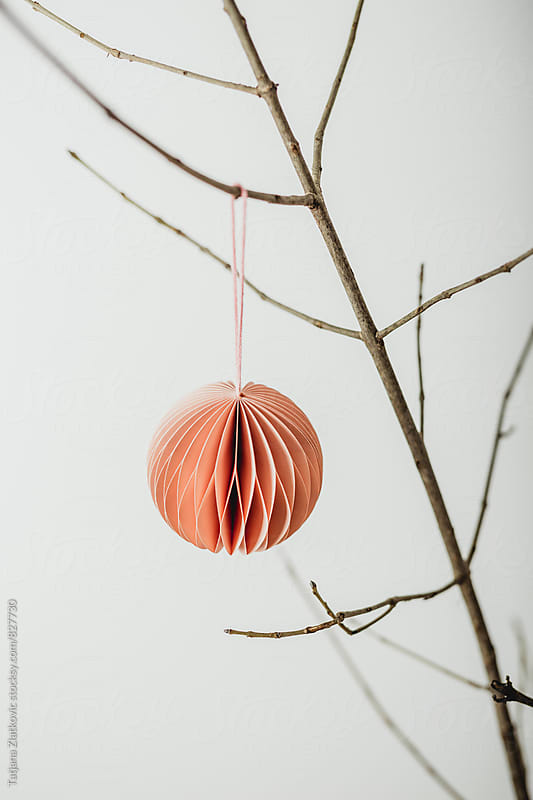 Christmas ornament by Tatjana Ristanic for Stocksy United