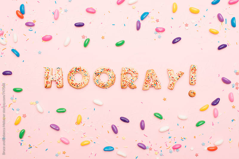 Hooray Type by Bruce and Rebecca Meissner for Stocksy United