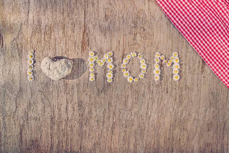 I love mom by Leander Nardin for Stocksy United