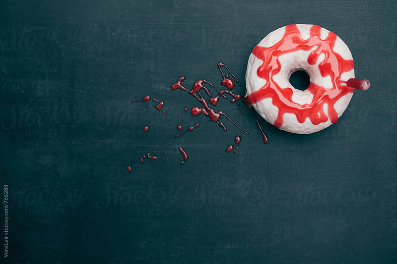 Bloody donuts by Vera Lair for Stocksy United