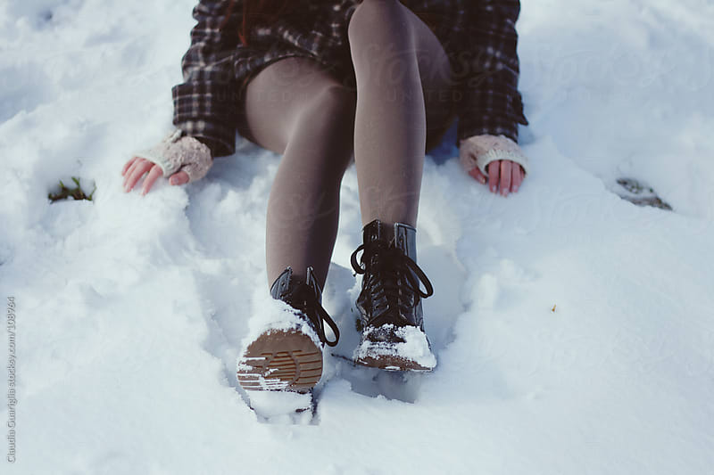 A sea of snow by Claudia Guariglia for Stocksy United
