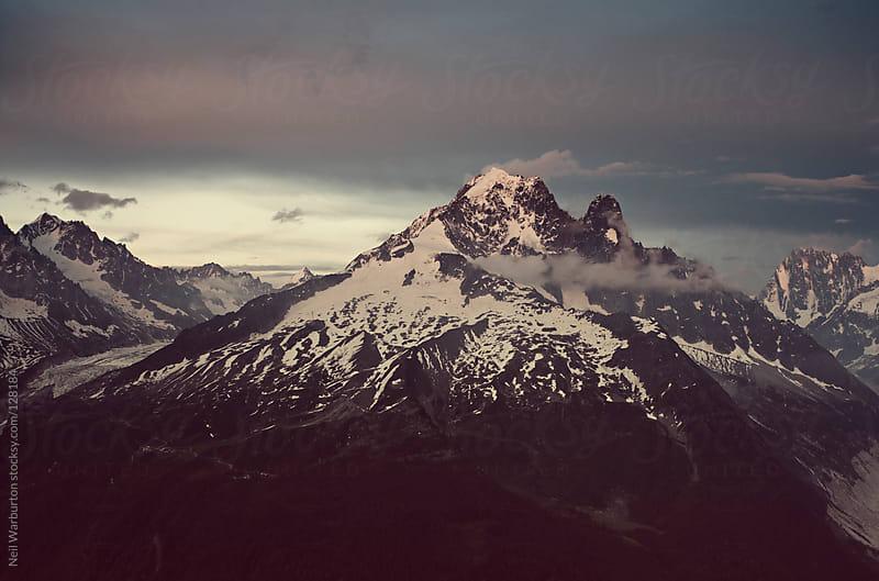 Alpine Dusk by Neil Warburton for Stocksy United