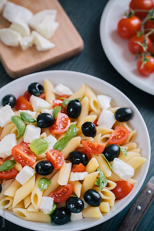 Pasta Salad by Davide Illini for Stocksy United