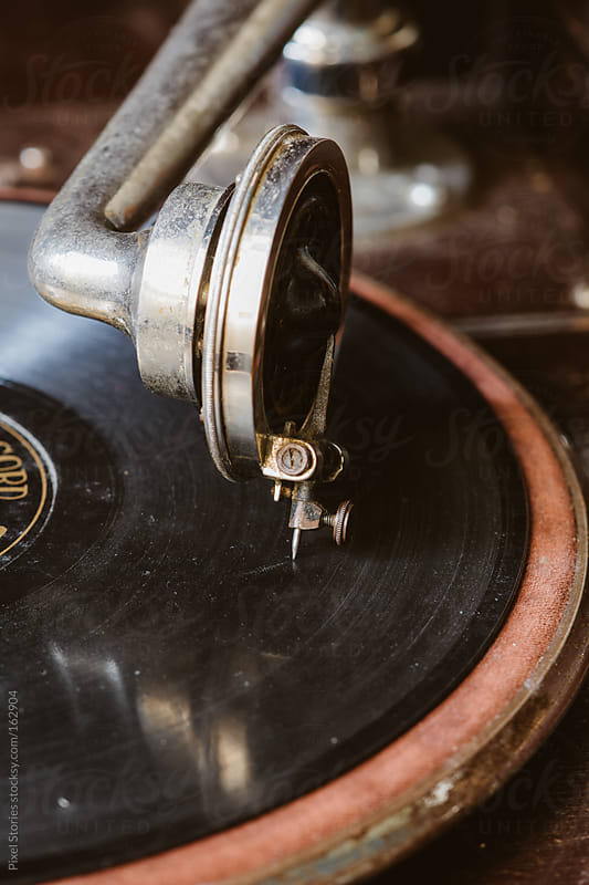 Old vintage gramophone by Pixel Stories for Stocksy United