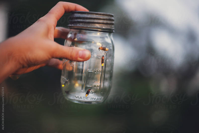 Fireflies In a Jar by ALICIA BOCK for Stocksy United