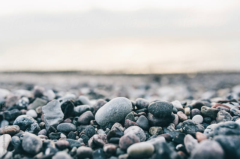 Pebbles at the Beach, Baltic Sea by Claudia Lommel for Stocksy United