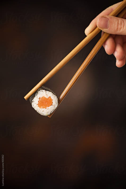 Maki Sushi Roll by Lumina for Stocksy United