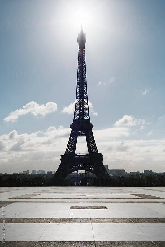 Eiffel Tower in a sunny day by GIC for Stocksy United