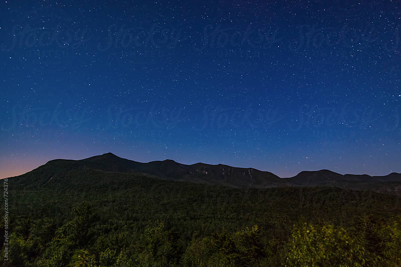 Stars Over The White Mountains by Leslie Taylor for Stocksy United