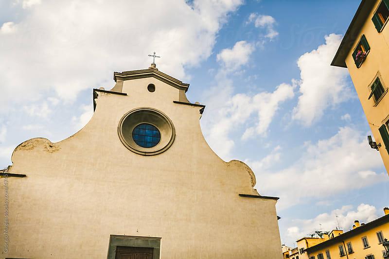 Santo Spirito Church in Firenze, Architecture of the Renaissance by Giorgio Magini for Stocksy United