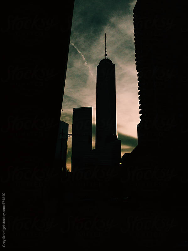The Freedom Tower at World Trade Center in New York City by Greg Schmigel for Stocksy United