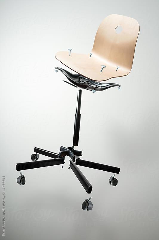 Disassembled Chair by Branislav Jovanović for Stocksy United