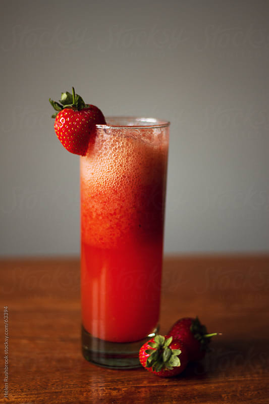 Strawberry Cooler by Helen Rushbrook for Stocksy United