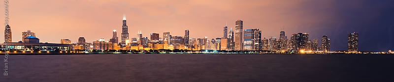 Chicago Panorama by Brian Koprowski for Stocksy United