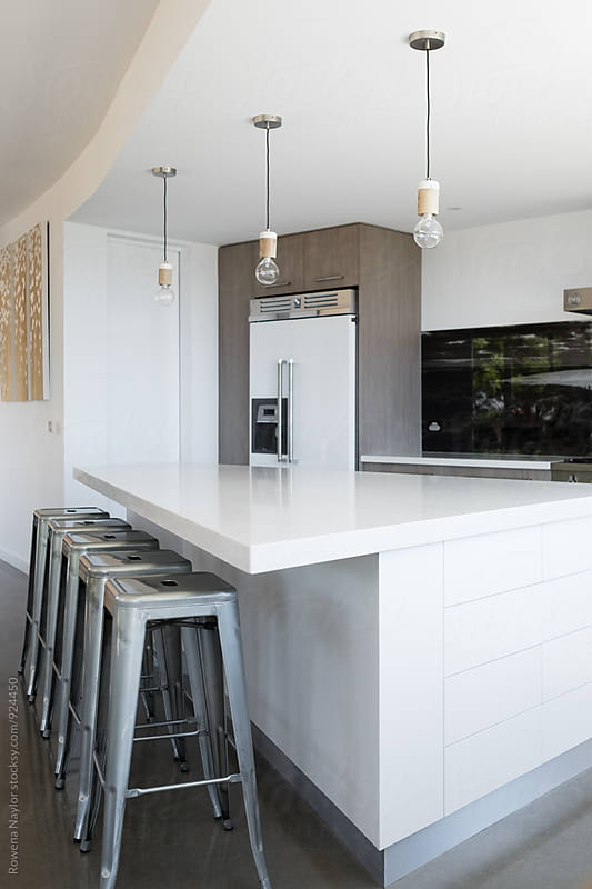 Modern Kitchen  by Rowena Naylor for Stocksy United