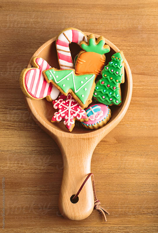 christmas biscuits by MaaHoo Studio for Stocksy United