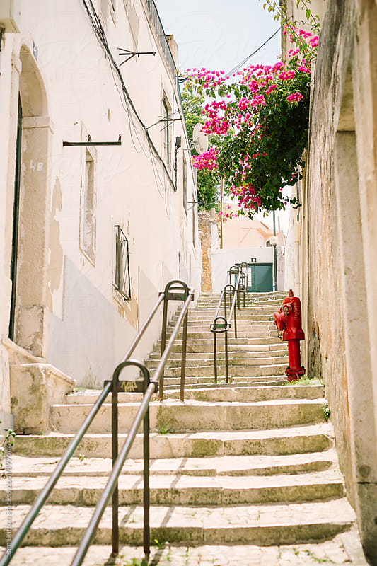 Steps in Lisbon by Sam Burton for Stocksy United