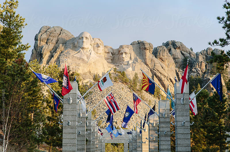 Mount Rushmore Black Hills South Dakota by Raymond Forbes LLC for Stocksy United