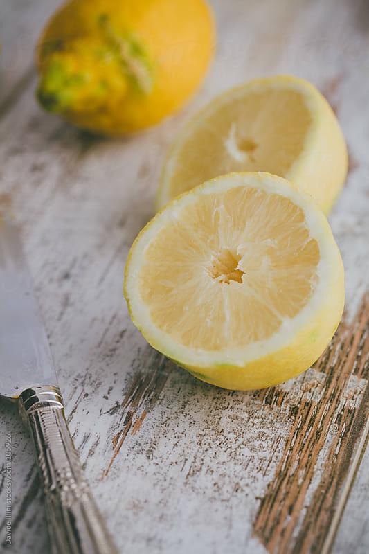 Fresh Lemons by Davide Illini for Stocksy United