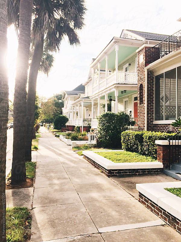 Beautiful Street in Charleston, SC by B. Harvey for Stocksy United
