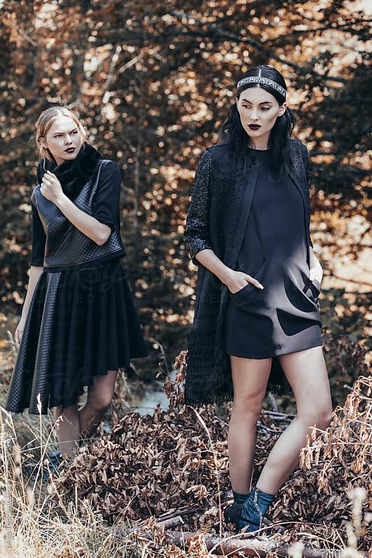 Autumn fashion editorial by Maja Topcagic for Stocksy United