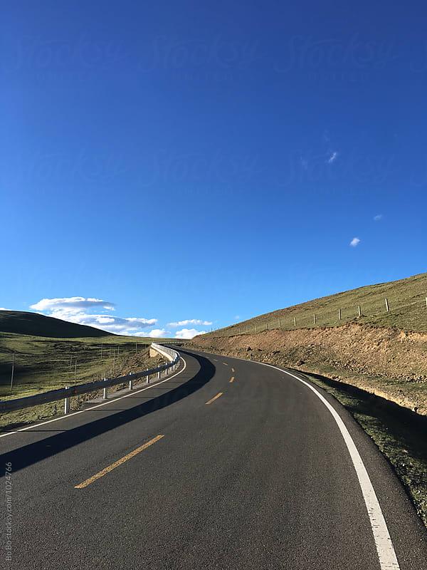 road by cuiyan Liu for Stocksy United