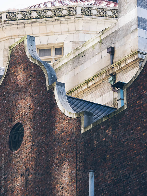 detail of building by unite images for Stocksy United