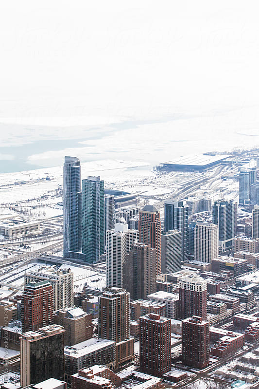 Chicago Skyline  by James Tarry for Stocksy United