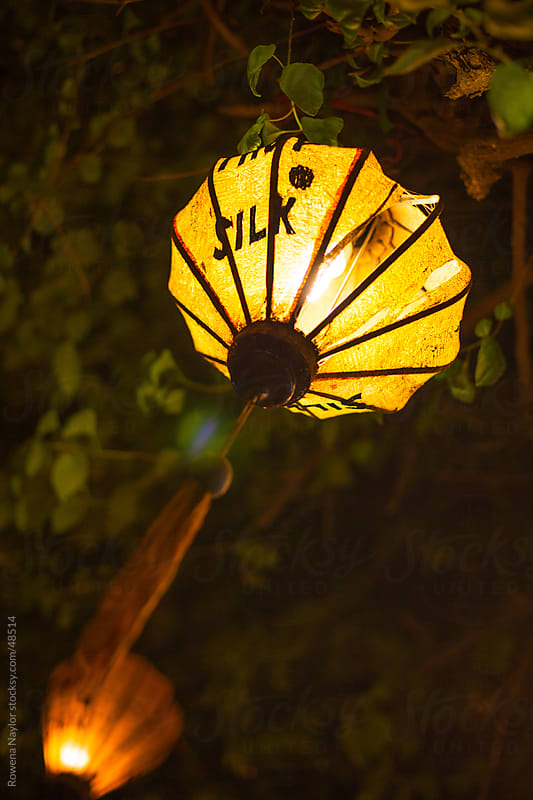 The Silk Lanterns of Hoi An Vietnam by Rowena Naylor for Stocksy United
